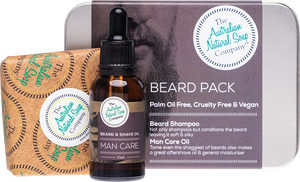 The Australian Soap Company Beard Pack