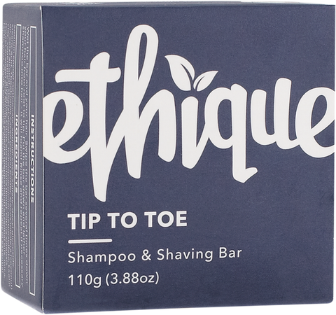 Ethique Solid Shampoo & Shaving Bar Tip-to-Toe 110g