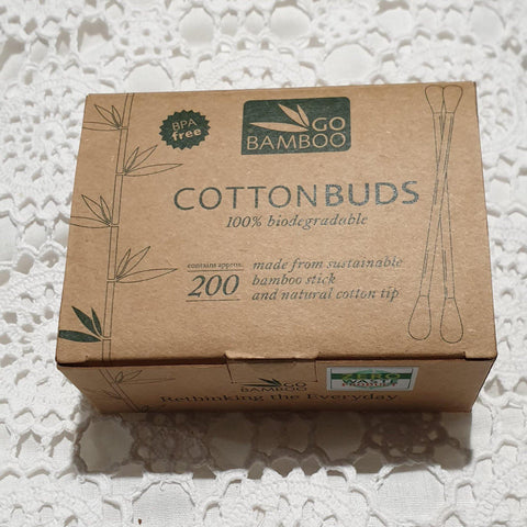 Go Bamboo Cotton Buds - 200 pack