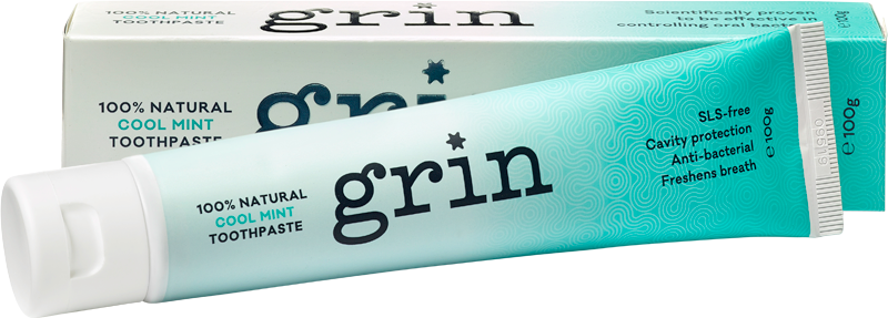 Grin 100% Natural Toothpaste 100g