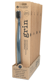 Grin Charcoal-infused Biodegradable Toothbrush