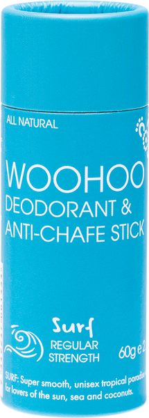 Woohoo Deodorant & Anti-Chafe Stick 60g