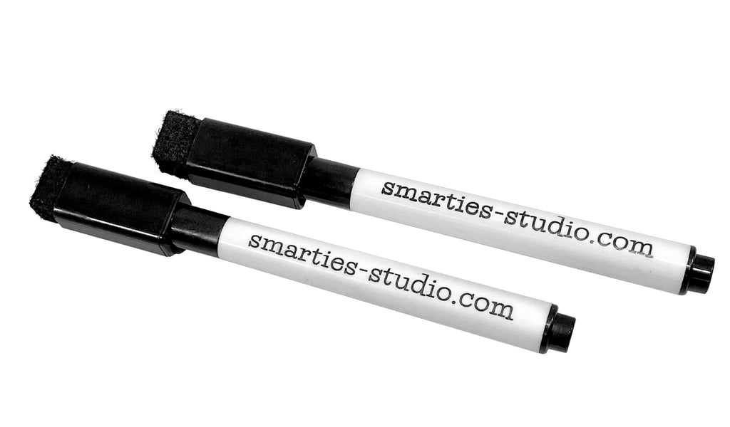 Smarties Studio's Dry-Erase Marker (Pack of Two)
