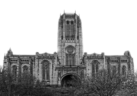 Alina Tait- Anglican Cathedral - front (B&W)