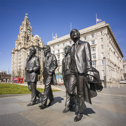 The Beatles at the Liver Building