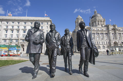 The Beatles at the Pier Head