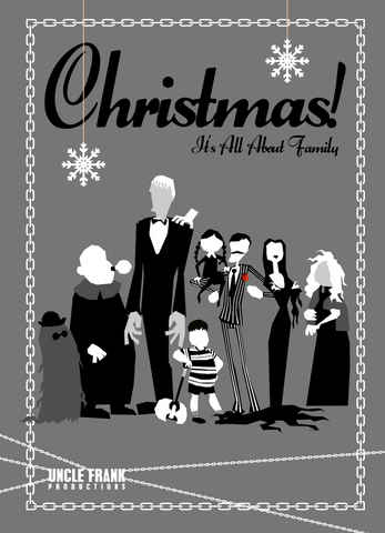 "Horror Greetings 031 ""XMAS ABOUT FAMILY"" - individual £3"