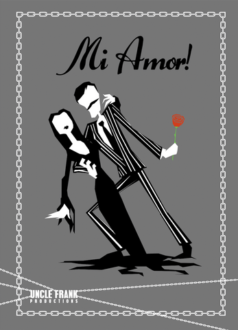 "Horror Greetings 047 ""Mi Amor"" - individual £3"