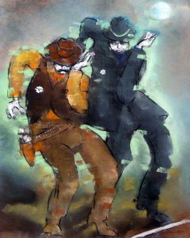 Peter Cameron- The Line Dancing Sheriffs