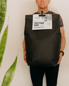 Potting Mix (56 liters) + Washable paper bag