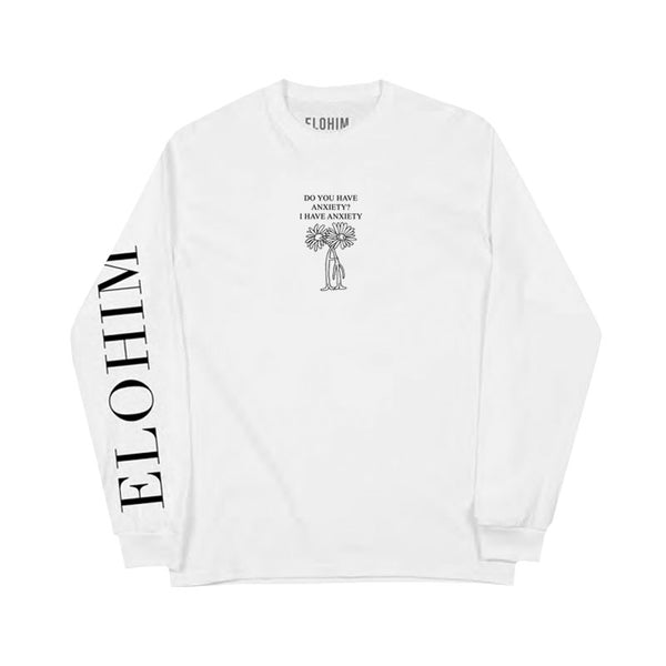 ANXIETY WHITE LONGSLEEVE