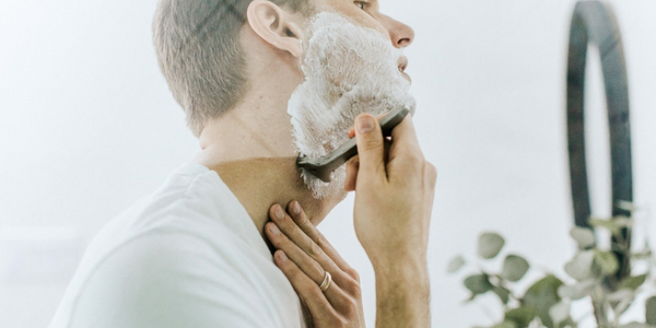 Here's how to avoid ingrown hairs when shaving.