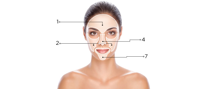 Enlarged Pores Skin Map