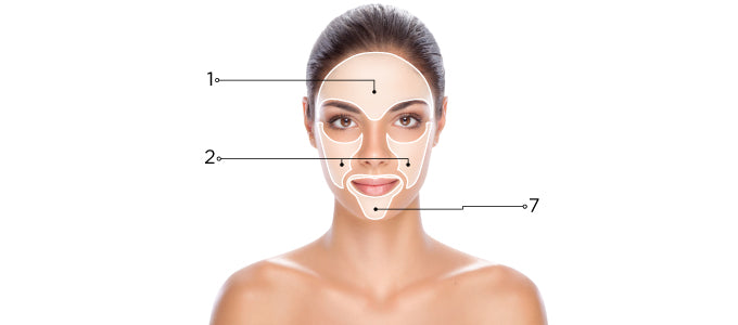 Age Spots and Melasma Skin Map