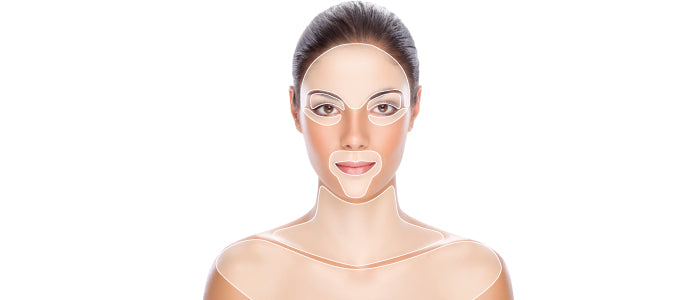 Fine Lines and Wrinkles Skin Map