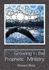 GROWING IN THE PROPHETIC MINISTRY (by Shawn Bolz, 3 Message Series on Audio CDs)