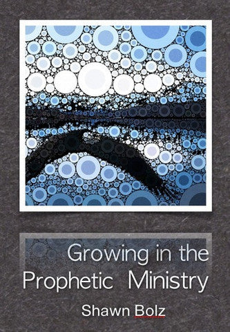 GROWING IN THE PROPHETIC MINISTRY (Shawn Bolz, 3 MP3 Series)