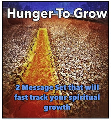 HUNGER TO GROW (a 2 Message Series By Shawn Bolz on MP3)