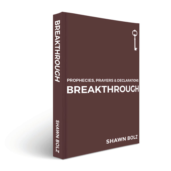 Breakthrough: Prophesies, Prayers, & Declarations by Shawn Bolz