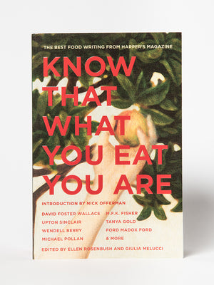 Know That What You Eat You Are