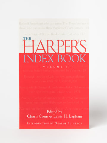 The Harper's Index Book, Vol. 3