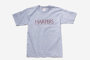 Harper's Magazine Gray T-Shirt