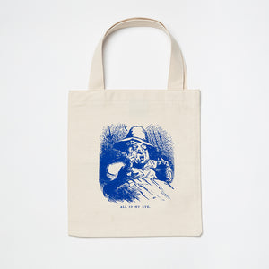 Harper's Magazine Small Blue Tote Bag
