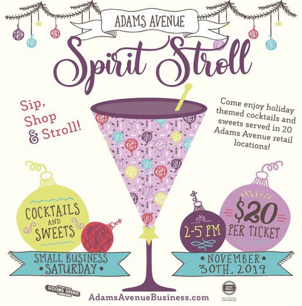 Adam's Avenue 5th Annual Spirit Stroll