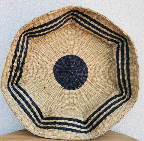 Scalloped Seagrass Basket