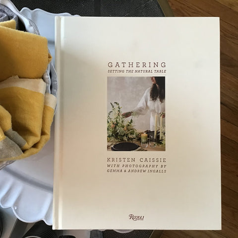 Gathering, Setting The Natural Table book for coffee table or book shelf