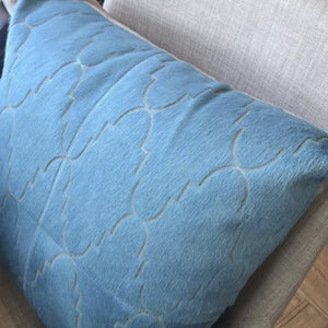 Nile Blue Exotico Pillow available at Bench Home