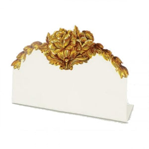 Gold Flora Place Cards | Set of 12 available at Bench Home