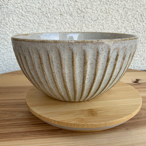 Textured Bowl with Bamboo Lid | 2 Sizes available at Bench Home