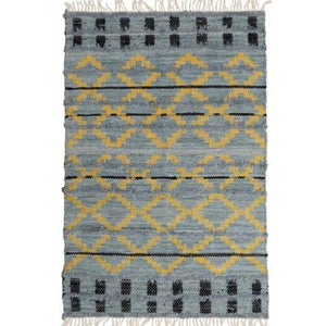 Trails Rug | Light Indigo