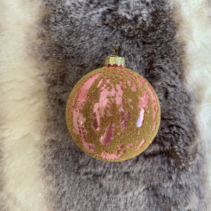 Pink Sand Ornament | 3 Sizes available at Bench Home