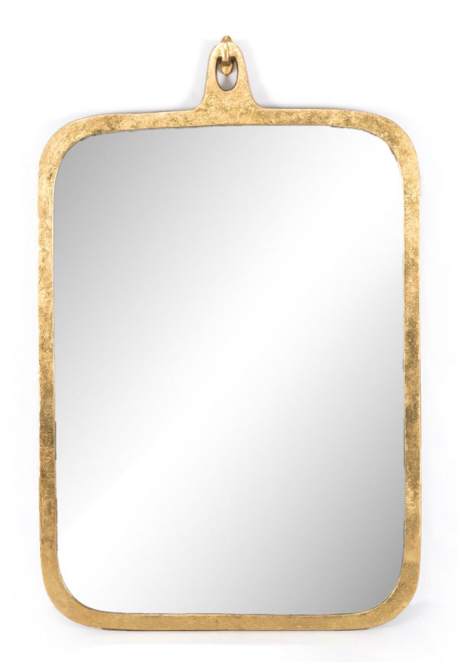 Hyde Gold Leaf Mirror