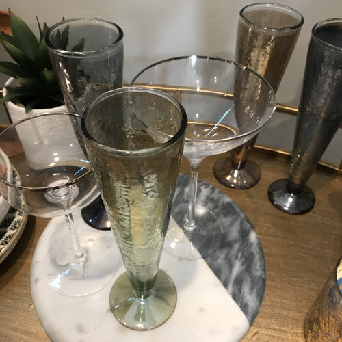 Gemma Luster Champagne Glasses | 3 Styles