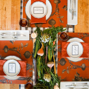 Paper Placemats | Harvest Vegetables | Set of 24 available at Bench Home
