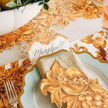 Load image into Gallery viewer, Gold Flora Place Cards | Set of 12
