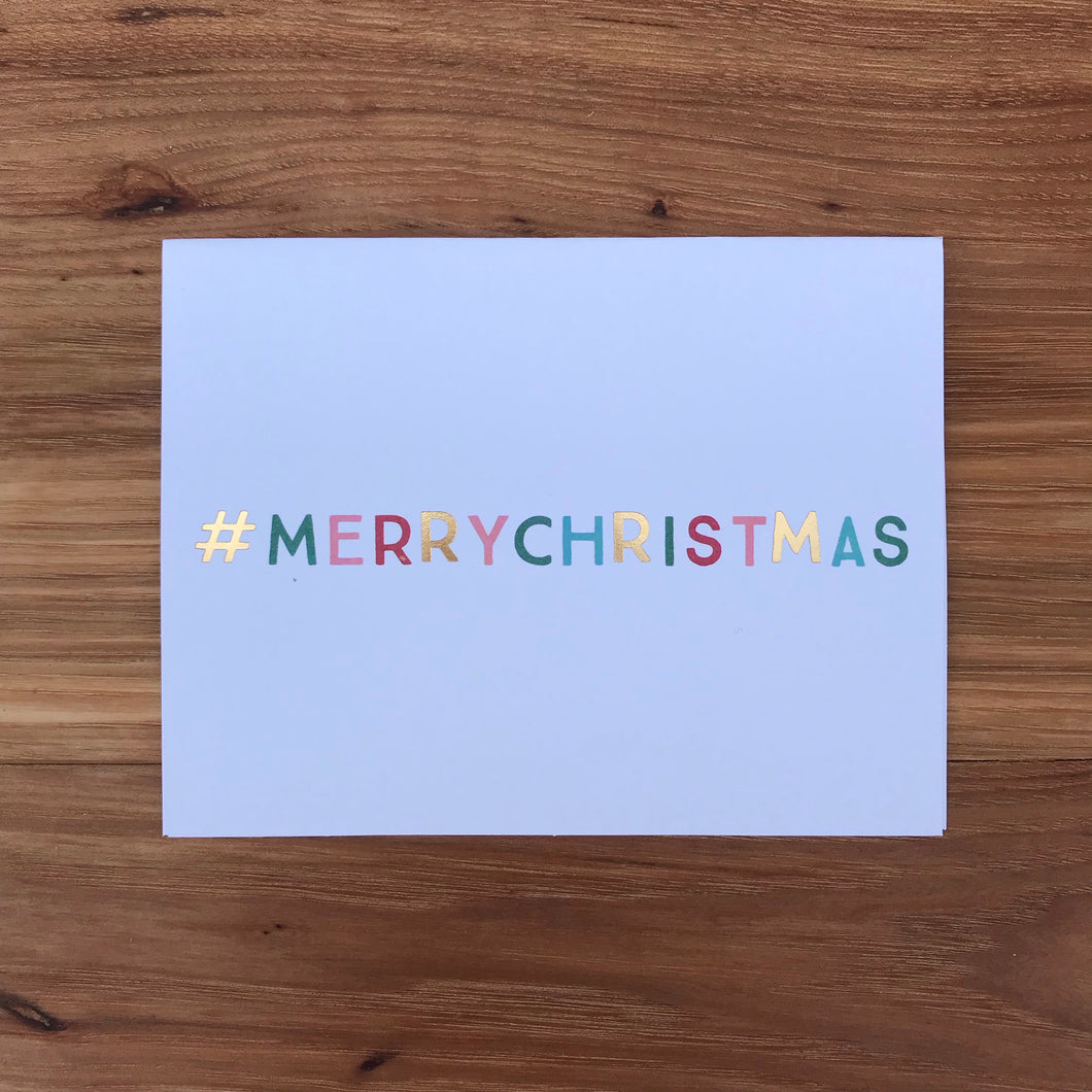 #merrychristmas Individual Cards