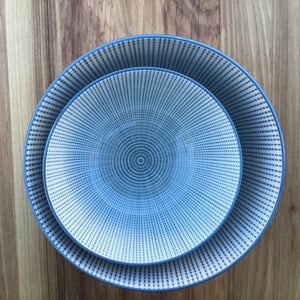 Kiri Gray & Blue Bowl | Large available at Bench Home