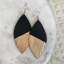 Load image into Gallery viewer, Two-Tone Feather Earrings | 2 Colors