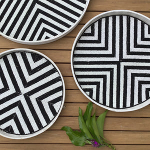 Riviera Tray + Wall Decor | 3 Sizes available at Bench Home