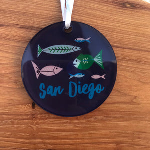 San Diego Ornaments | 3 Styles available at Bench Home