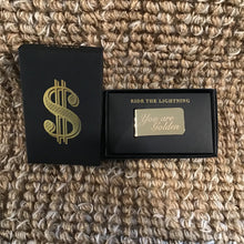 Load image into Gallery viewer, Brass Money Clip | 2 Styles