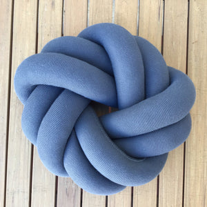 Petite Ring Knot Pillow | 5 Colors available at Bench Home