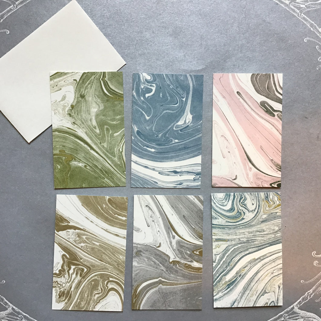 Marbled Enclosure Card