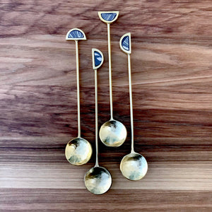 Fez Tea Spoon Set | 2 Colors available at Bench Home