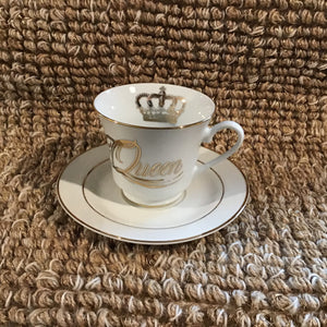 Tea Cup & Saucer Set | 3 Styles available at Bench Home