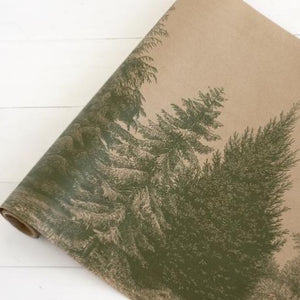 Evergreen Paper Table Runner available at Bench Home
